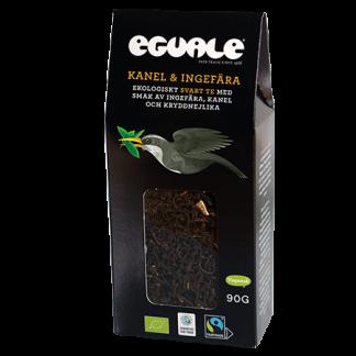 Eguale Kanel & ingefära, ekologiskt och Fairtrade-märkt svart löste 90g