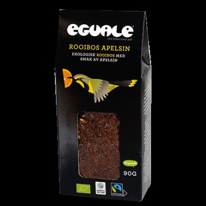 Eguale Rooibos Apelsin, ekologiskt och Fairtrade-märkt rött löste 90g