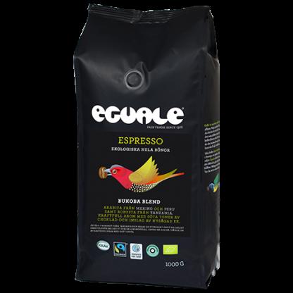 Eguale Bukoba Blend - Fairtrademärkt och ekologisk espresso