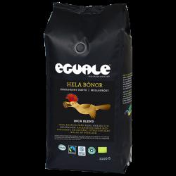 Eguale Inca Blend hela bönor - Fairtrade-märkt och ekologiskt kaffe