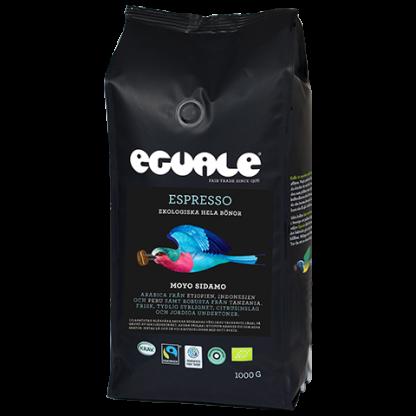 Eguale Moyo Sidamo - Fairtrademärkt och ekologisk espresso