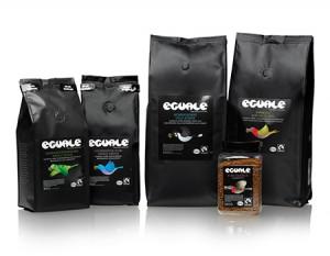 Eguale Fairtrade-märkt och ekologiskt kaffe