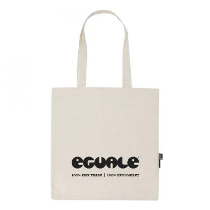 Eguale tygkasse - fairtrade-märkt och ekologisk bomull
