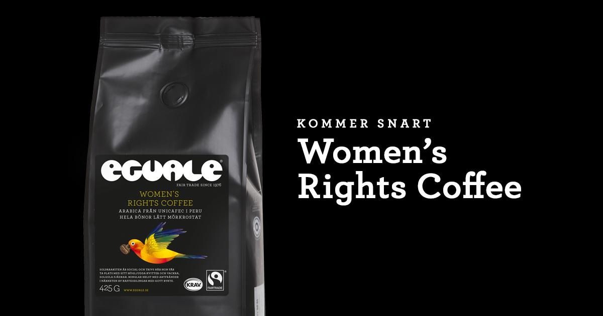 Women's Rights Coffee bidrar till jämlikhet