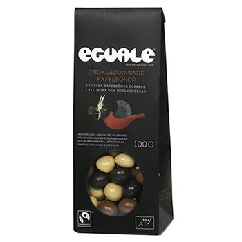 Eguale chokladdoppade kaffebonor