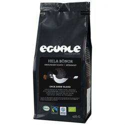 Hela bönor Inca Dark Blend - Fairtrade och ekologiskt bryggkaffe