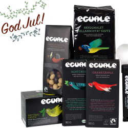 Julgåvan Strålande Jul_Fairtrade och ekologiskt kaffe och andra godsaker