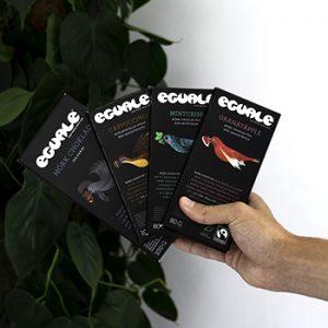 Eguale choklad Fairtrade och ekologisk