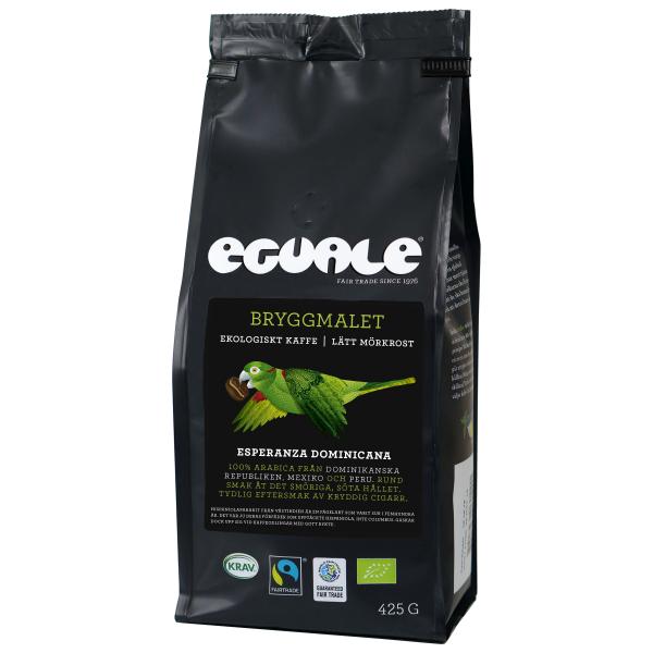 Eguale Bryggmalet, Esperanza Dominicana, Fairtrade och ekologiskt kaffe