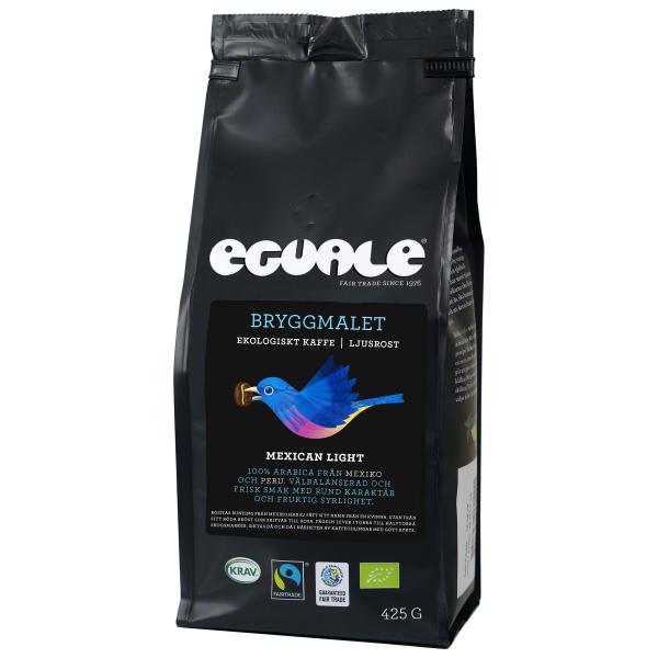 Eguale Bryggmalet, Mexican Light, Fairtrade och ekologiskt kaffe
