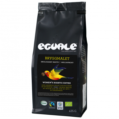 Eguale Bryggmalet, Womens Rights Coffee, Fairtrade och ekologiskt kaffe