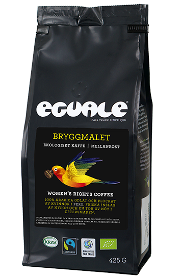 Eguale Women's Rights Coffee, Fairtrade och ekologiskt kaffe