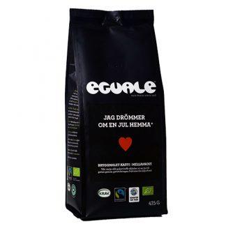 Eguale Jag drömmer om en jul hemma - Fairtrade-märkt och ekologiskt kaffe